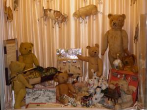 ours en peluche et jouets de la ferme