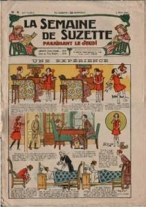 journal la Semaine de Suzette 1925