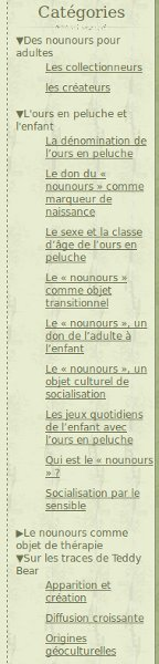 menu du site anthrours